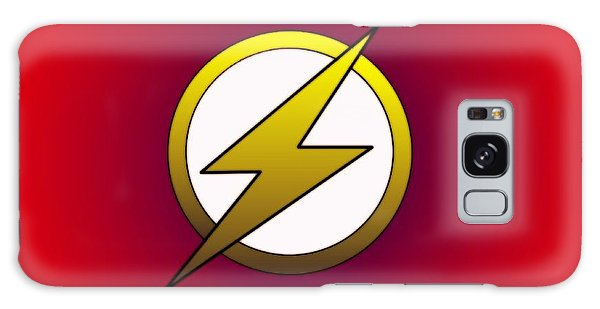 The Flash  Galaxy Case by Justin Moore