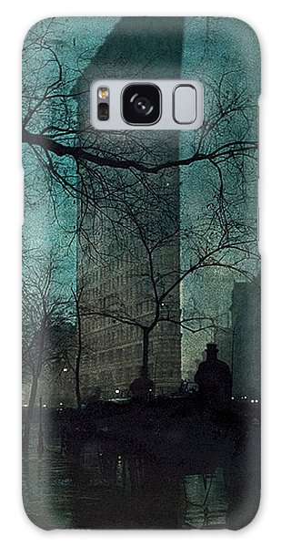 The Flatiron Building Galaxy Case by Edward Steichen