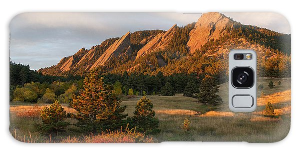 The Flatirons - Autumn Galaxy Case
