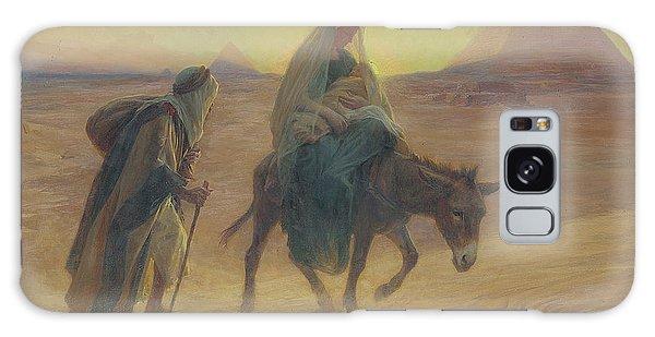 Egypt Galaxy Case - The Flight Into Egypt  by Eugene Alexis Girardet