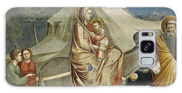 Egypt Galaxy Case - The Flight Into Egypt by Giotto di Bondone