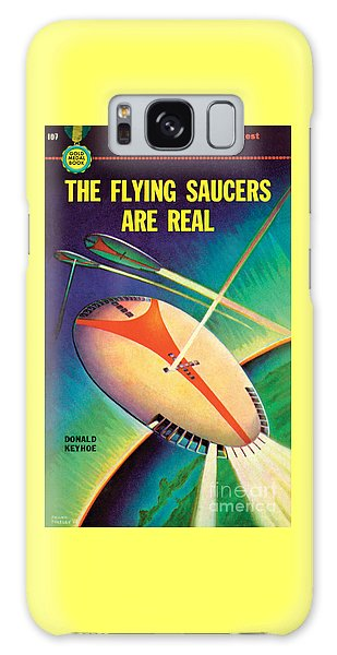 The Flying Saucers Are Real Galaxy Case by Frank Tinsley