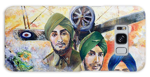 Sikh Art Galaxy Case - The Flying Sikhs by Sarabjit Singh