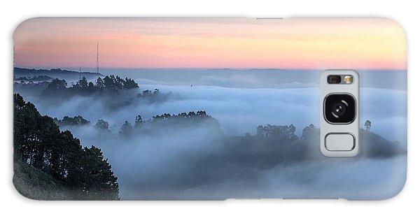 The Fog Kept On Rolling In Galaxy Case