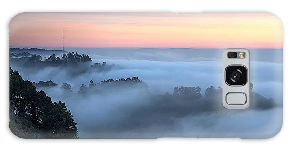 The Fog Kept On Rolling In Galaxy Case by Peter Thoeny
