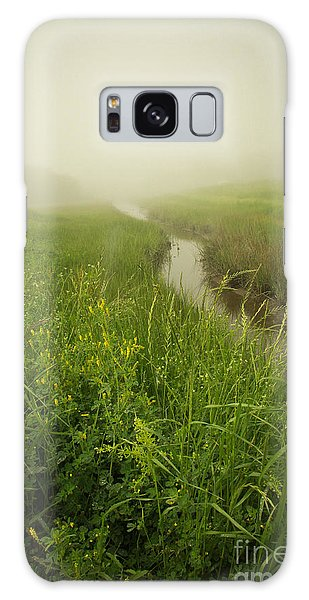 Galaxy Case featuring the photograph The Foggy Trail by Sandy Adams