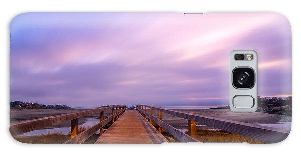 The Footbridge Good Harbor Beach Galaxy Case