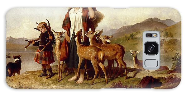 Landseer Galaxy Case - The Forester's Family by Sir Edwin Landseer