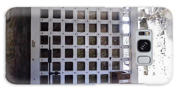 The Fort Door Galaxy Case by D Hackett