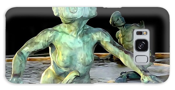 Patina Galaxy Case - The Fountain Couple by Ed Weidman