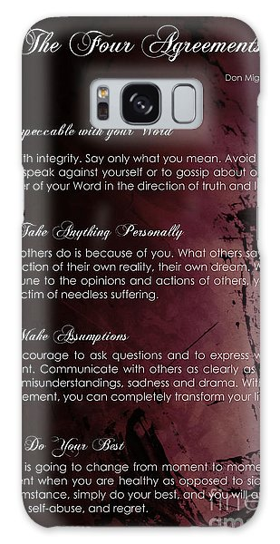The Four Agreements 3 Galaxy Case