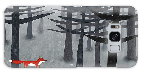 Forest Galaxy Case - The Fox And The Forest by Nic Squirrell