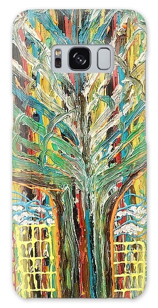 The Freetown Cotton Tree - Abstract Impression Galaxy Case