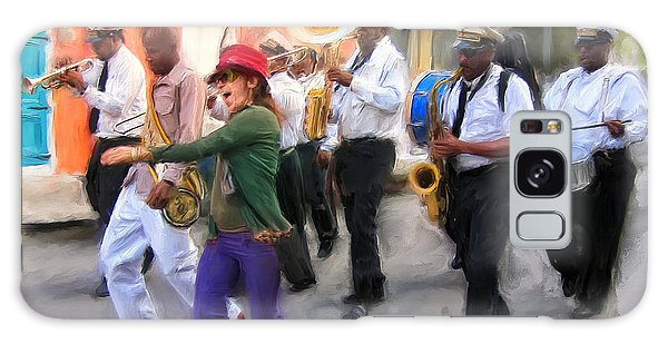The French Quarter Shuffle Galaxy Case