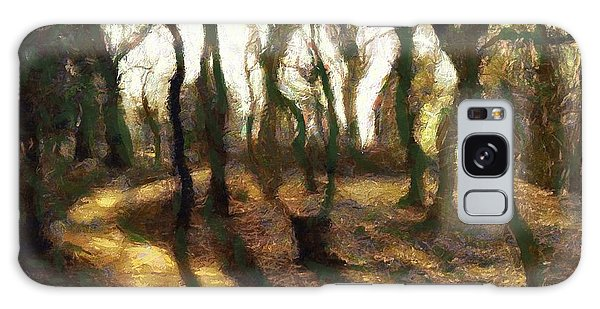 The Frightening Forest Galaxy Case by Gun Legler