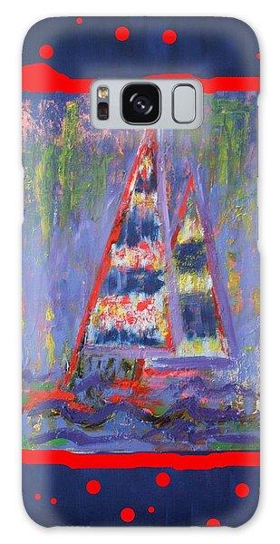 The Fun Of Sailing Galaxy Case by Karin Eisermann
