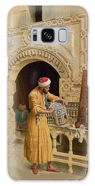 Islam Galaxy Case - The Furniture Maker by Ludwig Deutsch