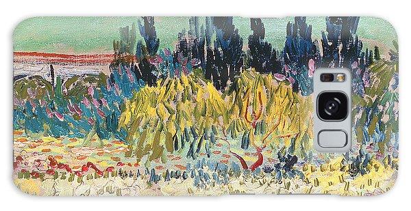 The Garden At Arles  Galaxy Case