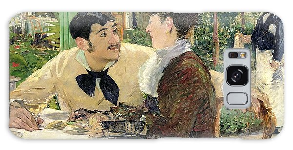 Restaurants Galaxy Case - The Garden Of Pere Lathuille by Edouard Manet