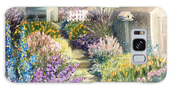 The Garden Path Galaxy Case by Renate Nadi Wesley