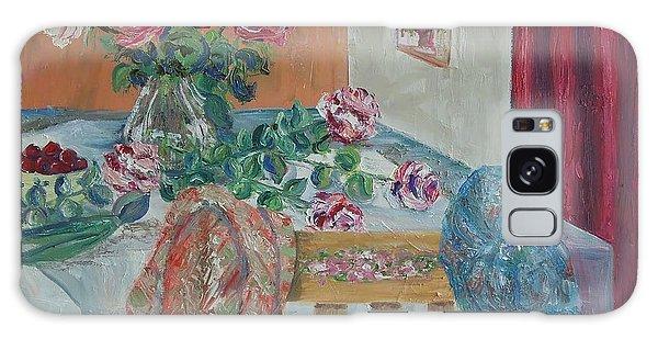 The Gardener's Table Galaxy Case by Judith Espinoza