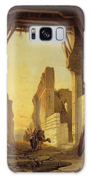 The Gates Of El Geber In Morocco Galaxy Case by Francois Antoine Bossuet
