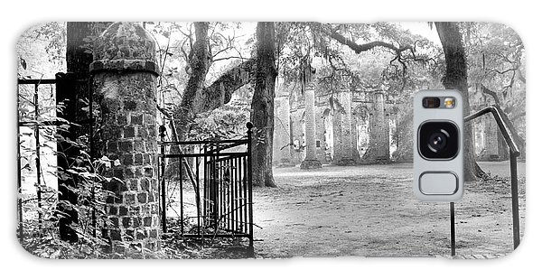 The Gates Of The Old Sheldon Church Galaxy Case by Scott Hansen