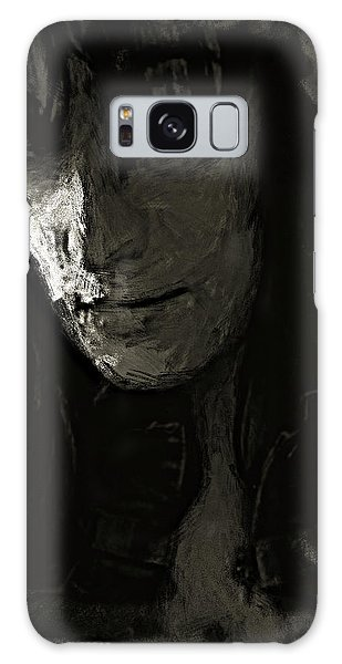 Galaxy Case featuring the photograph The Gaze by Jeff Gettis