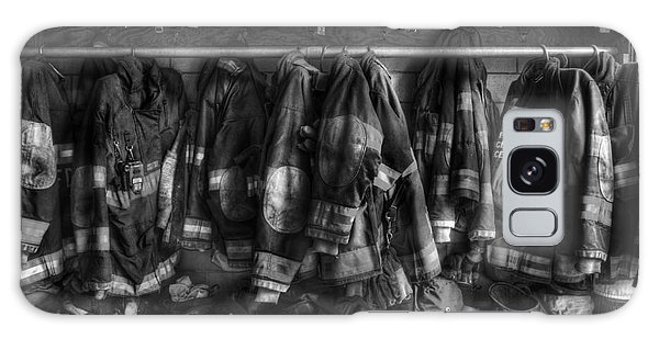 The Gear Of Heroes - Firemen - Fire Station Galaxy Case