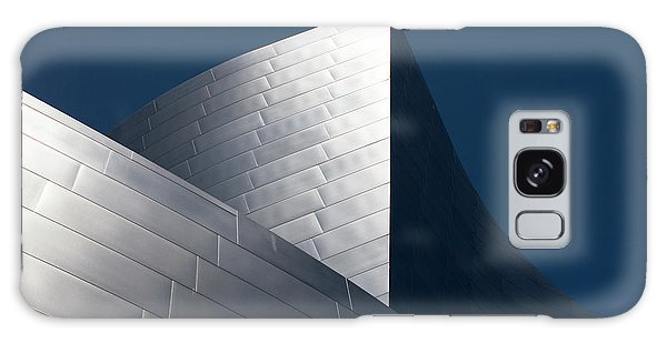 Galaxy Case featuring the photograph The Geometry Of Disney Hall by Lorraine Devon Wilke