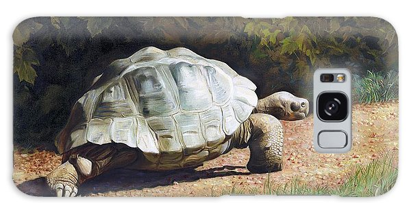 The Giant Tortoise Is Walking Galaxy Case
