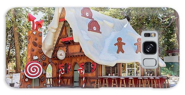 The Gingerbread House Galaxy Case by Eddie Yerkish