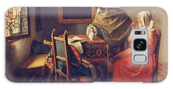 Jan Vermeer Galaxy Case - The Glass Of Wine by Jan Vermeer