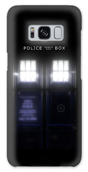 The Glass Police Box Galaxy Case