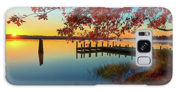Galaxy Case featuring the photograph The Glassy Patuxent by Cindy Lark Hartman