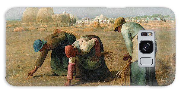 Woman Galaxy Case - The Gleaners by Jean Francois Millet