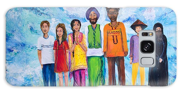Sikh Art Galaxy Case - The Global Family by Sarabjit Singh