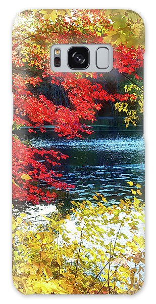 The Glory Of A New England Autumn Galaxy Case