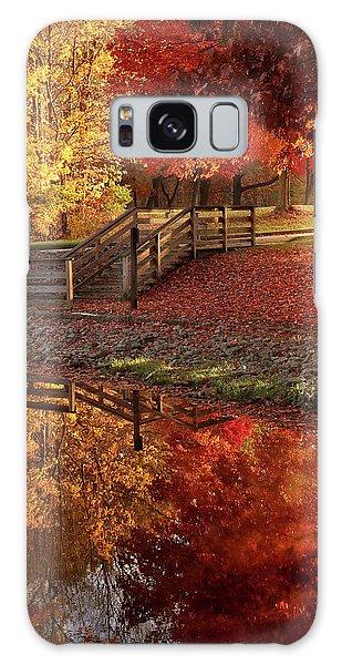 The Glory Of Autumn Galaxy Case