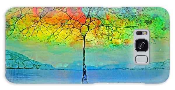 The Glow Tree Galaxy Case