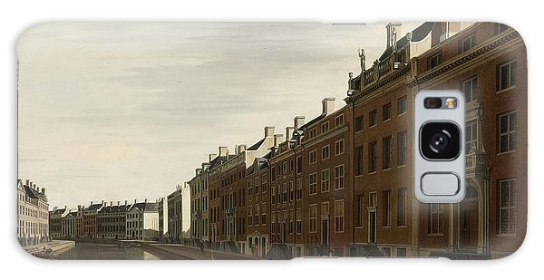 The Golden Bend In The Herengracht, Amsterdam, Seen From The West, 1672 Galaxy Case