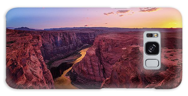 Galaxy Case featuring the photograph The Golden Canyon by Edgars Erglis