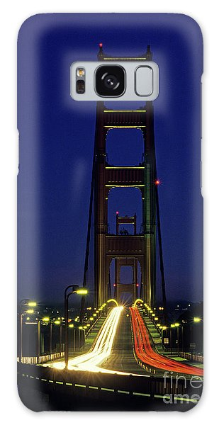 The Golden Gate Bridge Twilight Galaxy Case