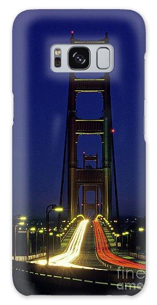 The Golden Gate Bridge Twilight Galaxy Case