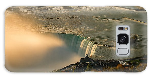 The Golden Mist Of Niagara Galaxy Case