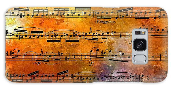 The Golden Music Of Motzart Galaxy Case