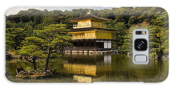 The Golden Pagoda In Kyoto Japan Galaxy Case by David Smith