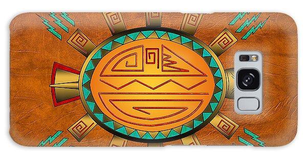 The Golden Spirit Turtle Galaxy Case