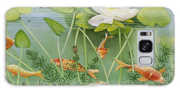 Goldfish Galaxy Case - The Golden Touch by Pat Scott