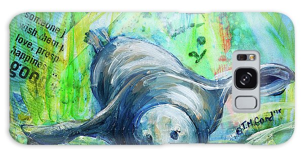 Galaxy Case featuring the painting The Good Life by TM Gand